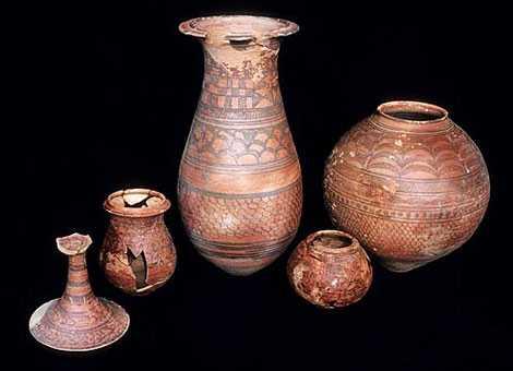 Cổ vật của nền văn minh Harappan.