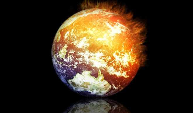 Hiện tượng nóng lên toàn cầu là một trong những vấn đề đáng lo ngại của thế giới.