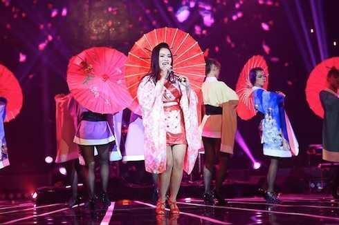 Ở thử thách cuối cùng, Hải Yến thể hiện 'Ngại ngùng' của Hương Tràm. Giám khảo Phương Uyên cho rằng đây là phần trình diễn yếu nhất đêm của Hải Yến, khiến cô mất hứng.