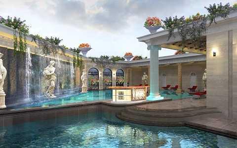Bể bơi hiện đại tại dự án
