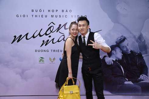 Dương Triệu Vũ và Bảo Anh.