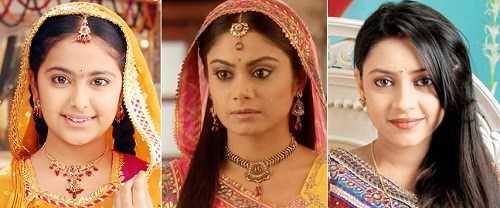 Các diễn viên đóng vai Anandi từ nhỏ đến lớn: Avika Gor, Toral Rasputra và Pratyusha Banerjee.
