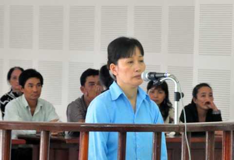 Nguyễn Thị Quỳnh Hương tại tòa