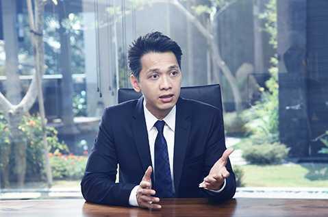 Ông Trần Hùng Huy - Chủ tịch ngân hàng ACB