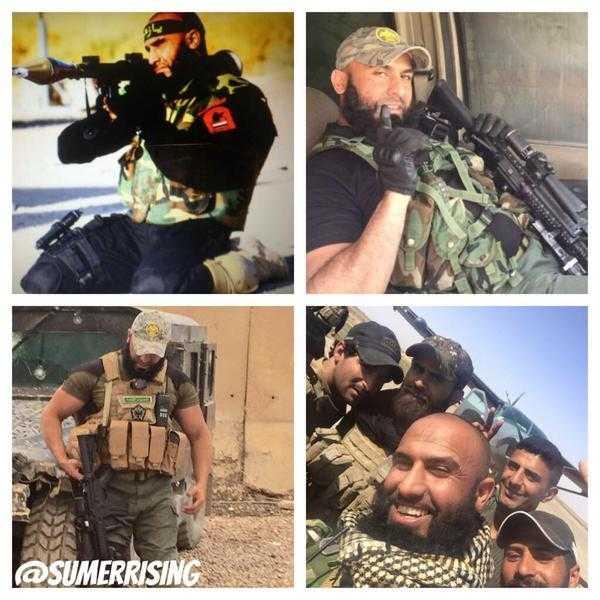 Hình ảnh của Abu Azrael khiến quân IS kinh hãi