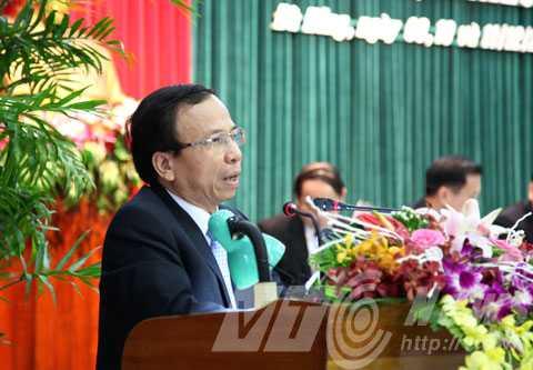 ông Võ Duy Khương, Phó Chủ tịch Thường trực UBND TP.Đà Nẵng trả lời chất vấn liên quan đến 17.000 lô đất bị ém không giao cho dân