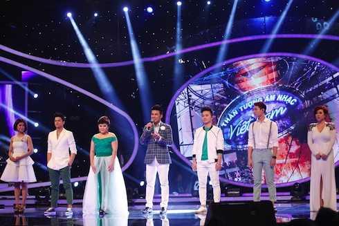 Top 6 Vietnam Idol 2015.