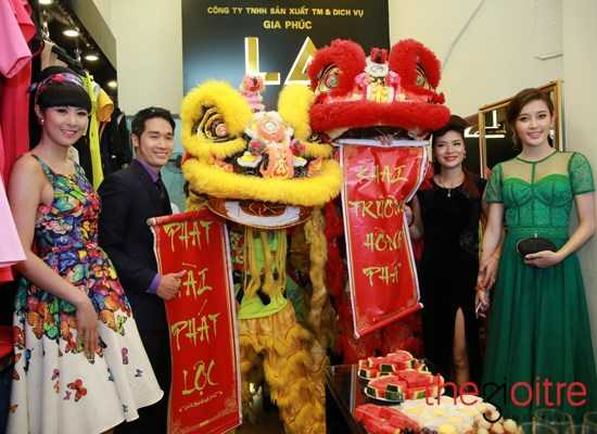 Hoa hậu Ngọc Hân xuất hiện tại sự kiện