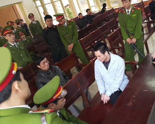 Bị can Lý Nguyễn Chung, bị truy tố với tội danh Giết người, Cướp tài sản