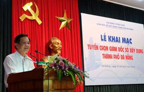 Sáng 30/6, Hội đồng thi tuyển Giám đốc Sở Xây dựng TP Đà Nẵng đã chính thức tổ chức thi tuyển cho 3 ứng viên đăng ký vào chức danh này (ảnh:danangcity.gov.vn)