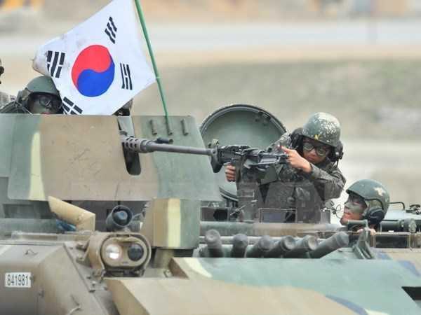 Binh sỹ Hàn Quốc - Ảnh: TTXVN