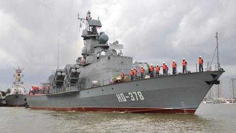 Tàu tên lửa cao tốc Molniya HQ 378.