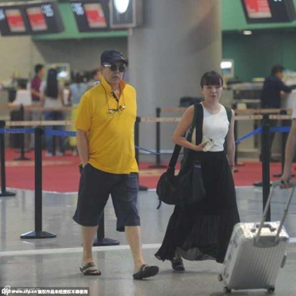 Trương Thiết Lâm xuất hiện bình thản tại sân bay ngày 30/6.