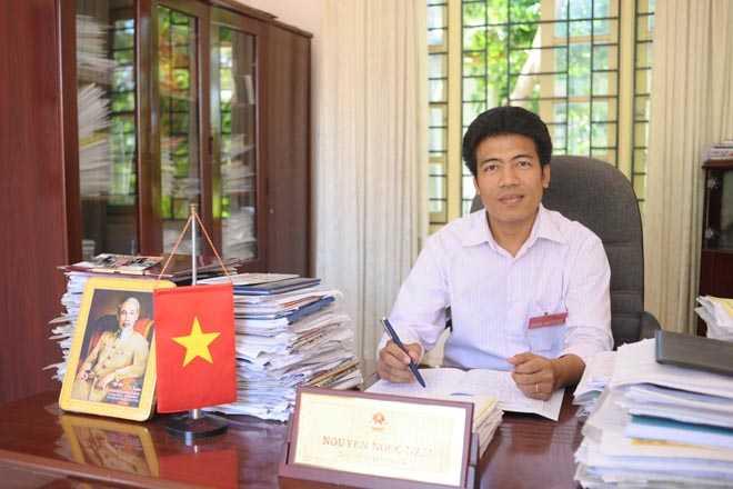 Ông Nguyễn Ngọc Nam - Chủ tịch UBND Phường Thụy Phương.