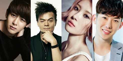 Dàn sao đình đám Nickhun (2PM), Jackson (GOT7),… là những khách mời làm cho bộ phim càng hấp dẫn.