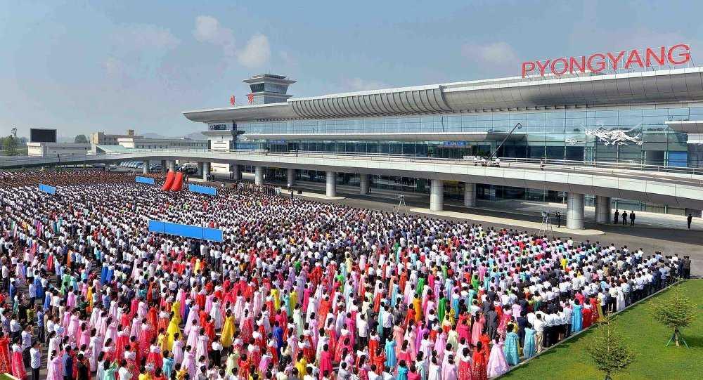 Sân bay Bình Nhưỡng mới- Ảnh: Sputnik