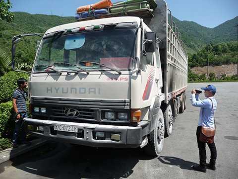 Xe tải mang BKS 37C-072.46