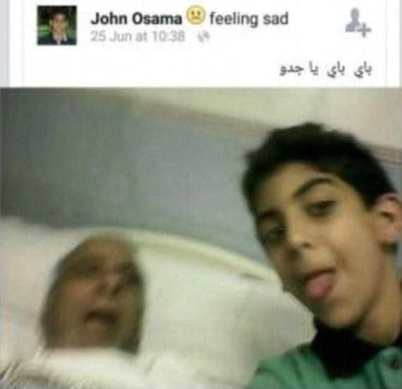 Bức ảnh gây sốc của cậu bé Saudi Arabia