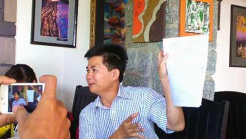 Ông Trần Minh Lợi - người đã dày công thu thập các chứng cứ, tài liệu để tố cáo các sai phạm tại Công an Cư Kuin.