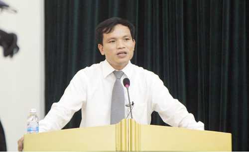 Ông Mai Văn Trinh, Cục trưởng Cục Khảo thí và Kiểm định Chất lượng giáo dục (Bộ GD-ĐT)