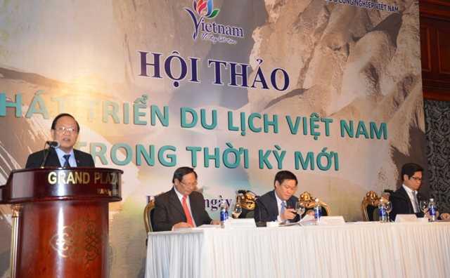 Bộ trưởng Hoàng Tuấn Anh phát biểu tại Hội thảo