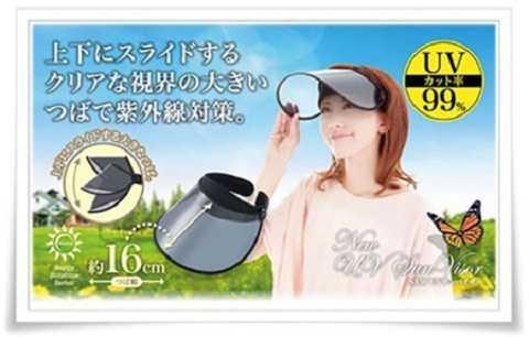 Không phải ngẫu nhiên Nhật Bản lại sản xuất nhiều áo và mũ có tác dụng chống lại tia UV.