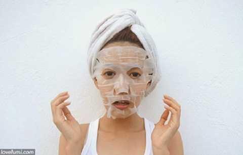 Lotion mask cung cấp ẩm cho da .