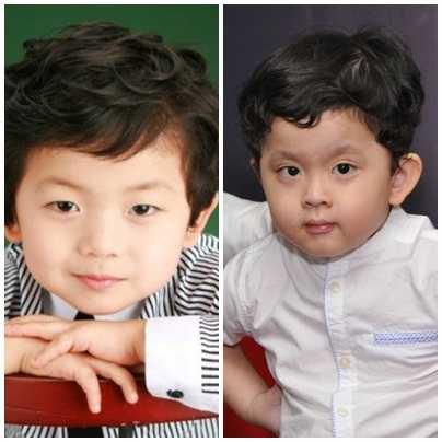 Ở nhiều góc mặt, hai cậu bé rất dễ bị hiểu lầm là anh em sinh đôi.