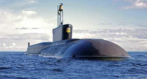 Tàu ngầm hạt nhân tên lửa đạn đạo Alexander Nevsky của Hải quân Nga