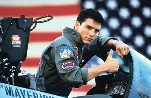 Nam tài tử Tom Cruise được xem là 'linh hồn' bất diệt' của Top Gun