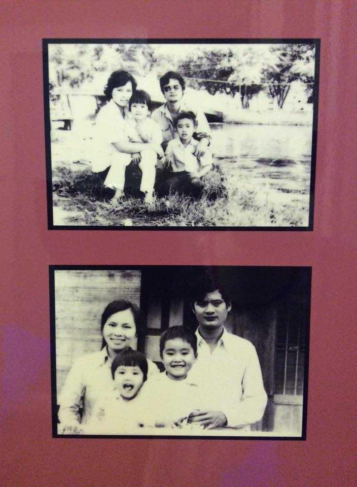 Bông Mai chia sẻ bức ảnh cả gia đình