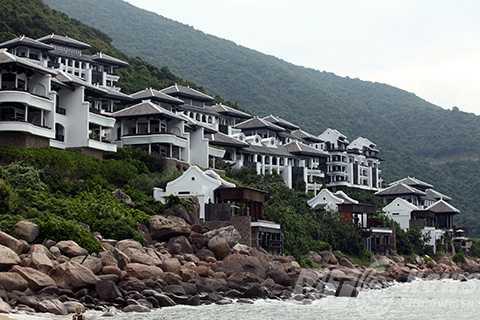 Một góc khu nghỉ dưỡng InterContinetal Danang Sun Peninsula (Đà Nẵng, Việt Nam)