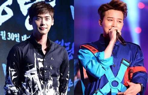Lee Jong Suk cũng là một fan hâm mộ của G-Dragon. Anh chàng thích phong cách cá tính cả về âm nhạc lẫn thời trang của trưởng nhóm Big Bang