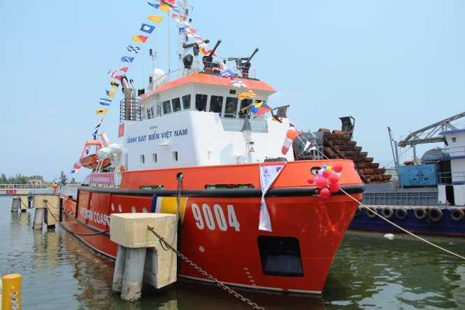 Tàu cảnh sát biển 9004 - Ảnh: P. Thành