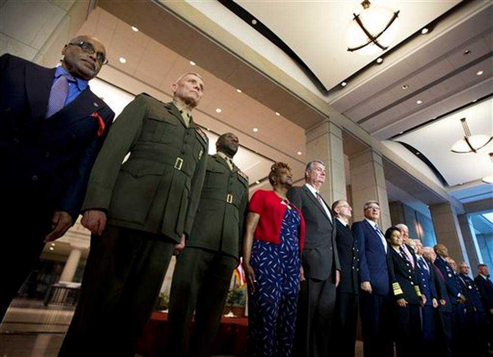 Các quan chức Bộ Quốc phòng và Quốc hội Mỹ tham gia lễ kỷ niệm