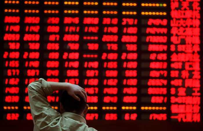 Thị trường chứng khoán Trung Quốc vừa trải qua chuỗi ngày tồi tệ