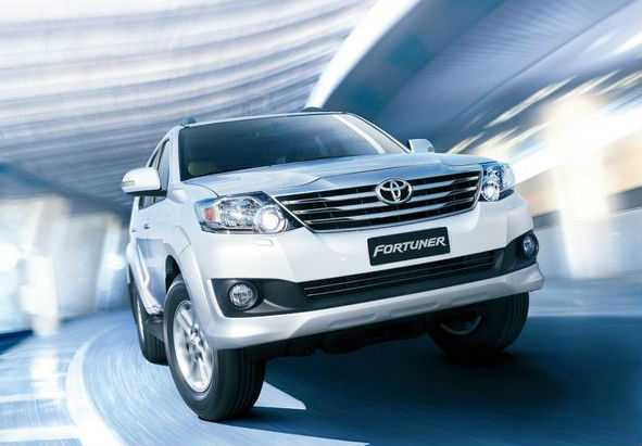 Toyota Forturner. Ảnh minh họa