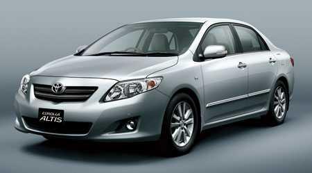 Toyota Altis. Ảnh minh họa