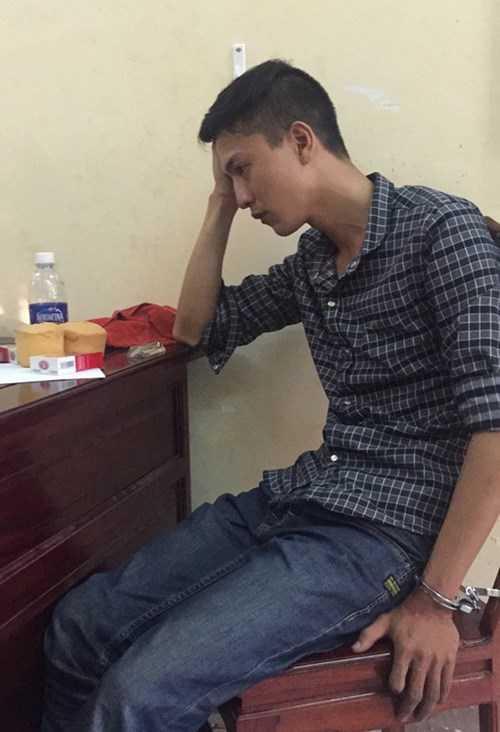 Nguyễn Hải Dương bị bắt tại cơ quan điều tra - Nguồn ảnh: Thanh niên