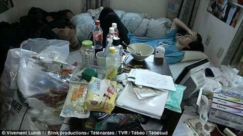 Ngày càng có nhiều thanh niên Nhật chọn cách sống ở ẩn