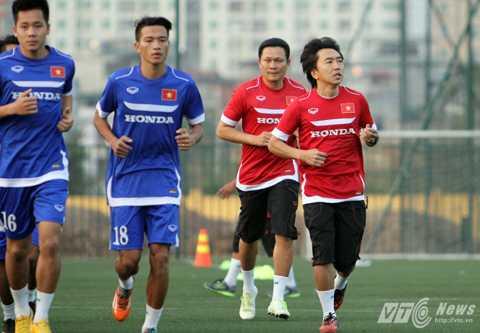 HLV Miura sẽ gọi số lượng cầu thủ ít nhất có thể (Ảnh: Quang Minh)