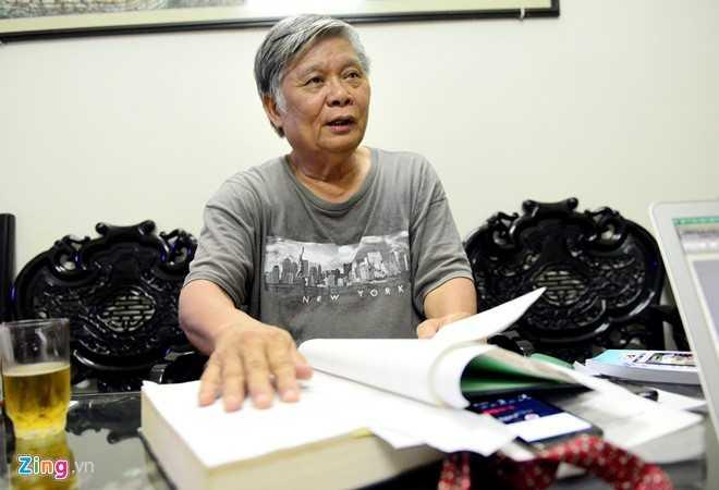 Ông Nguyễn Đình Lương luôn nhận mình là nông dân khi đi đàm phán hiệp định thương mại với Mỹ - Ảnh: Zing News