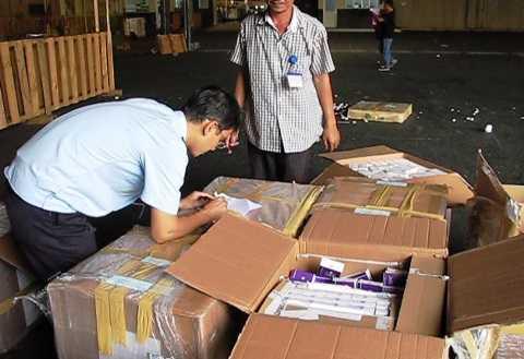 Lô hàng đang được tạm giữ để tiếp tục điều tra làm rõ, xử lý