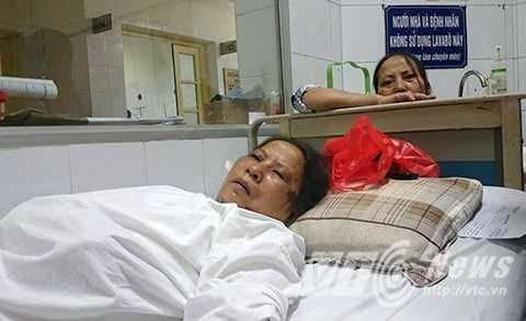 Bà Thụy Và bà Châm tại bệnh viện Việt Đức