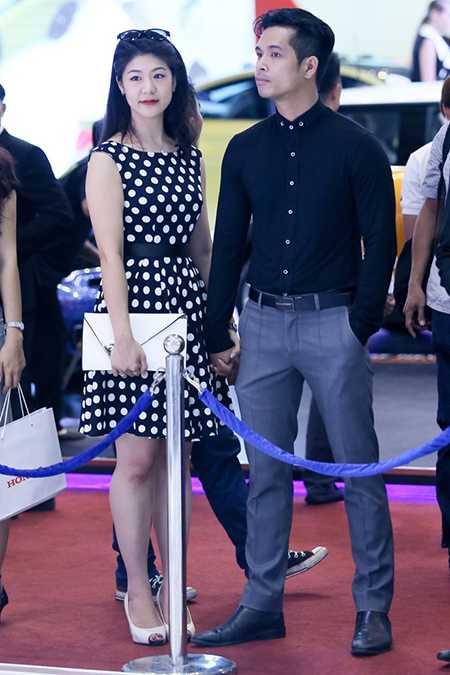 Huỳnh Lý Đông Phương thường xuyên cùng bạn trai tham gia các sự kiện