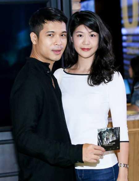 Huỳnh Lý Đông Phương cũng là bạn gái của nam ca sĩ, diễn viên Trương Thế Vinh