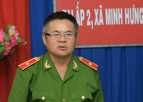 Thiếu tướng Hồ Sĩ Tiến. Ảnh: Đinh Tuấn