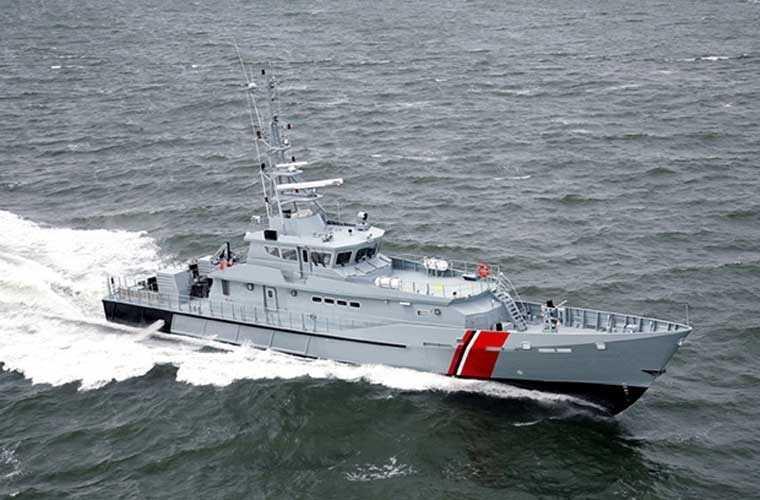Chính phủ Mỹ sẽ cung cấp 6 tàu tuần tra cao tốc lớp Defiant do công ty Metal Shark chế tạo cho lực lượng Cảnh sát biển Việt Nam