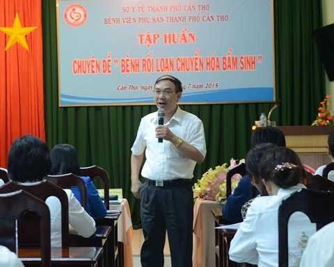 Thạc sĩ – Bác sĩ Vũ Chí Dũng, Trưởng Khoa Nội tiết – Chuyển hóa – Di truyền, Bệnh viện Nhi Trung ương.