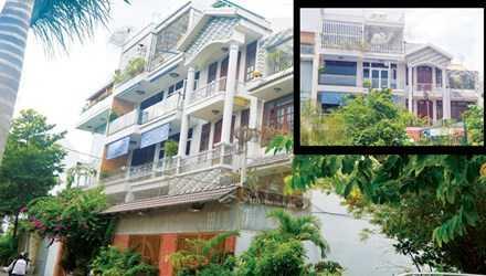 Căn biệt thự nơi gia đình ông Hiển, cha đẻ của Giang Kim Đạt sinh sống được giới đầu tư cho biết có giá khoảng 30 tỷ đồng. Ảnh: Việt Văn
